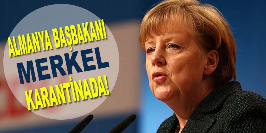 Merkel Karantinada !