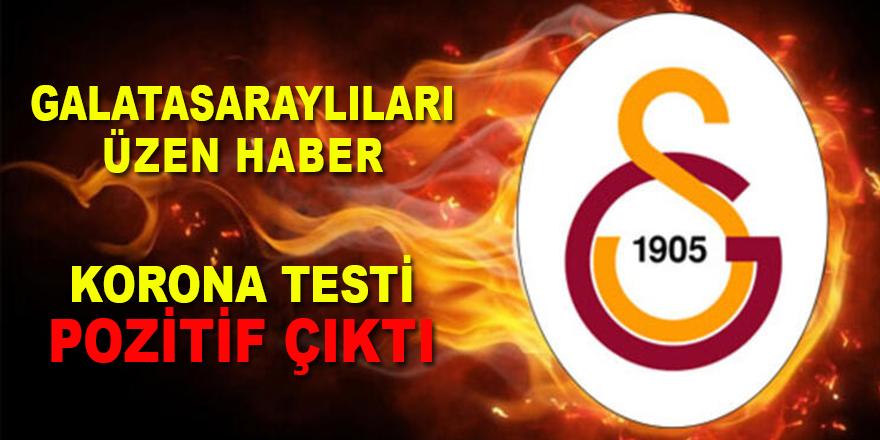 Galatasaray'da ikinci Korona virüs vakası !