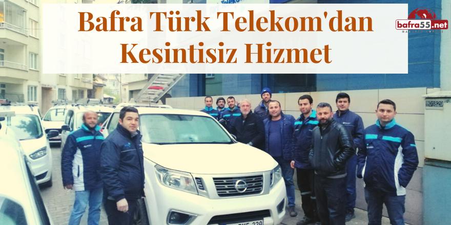 Türk Telekom'da Dezenfekte Çalışmaları Devam Ediyor