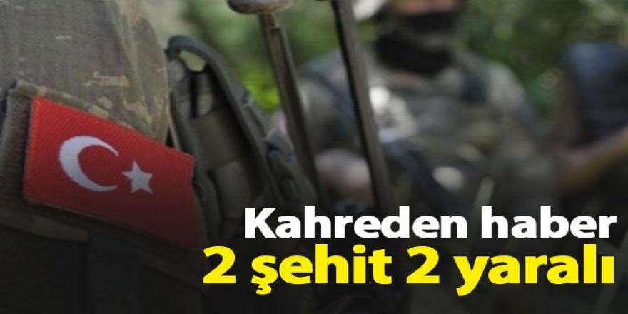 Kuzey Irak'da 2 Askerimiz Şehit Oldu