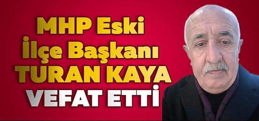 MHP Vezirköprü  Eski İlçe Başkanı Vefat Etti
