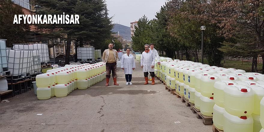 Liselilerden 150 ton hijyen malzemesi