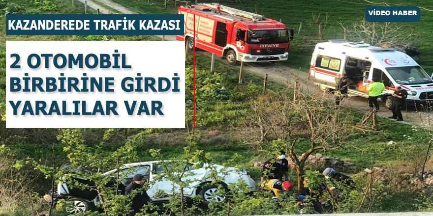 Kazanderede Feci Kaza 3 Yaralı