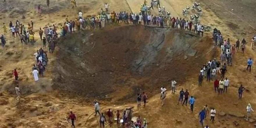 Nijerya'da meteor mu düştü?
