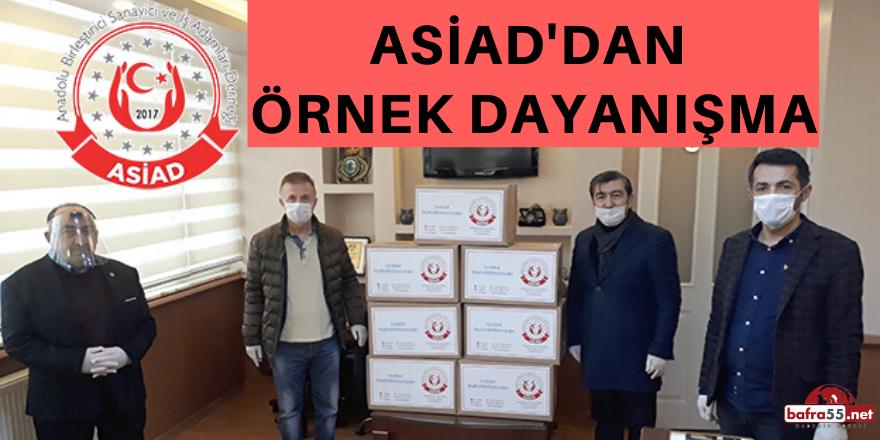 'EVDE KAL, KAL SAĞLIKLI KAL' DİYEN ASİAD'DAN ÖRNEK DAYANIŞMA..