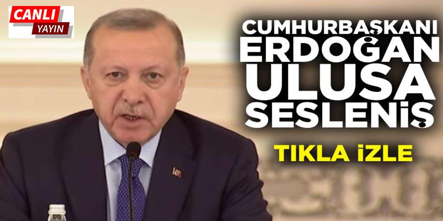 Recep Tayyip Erdoğan Ulusa Seslenişi