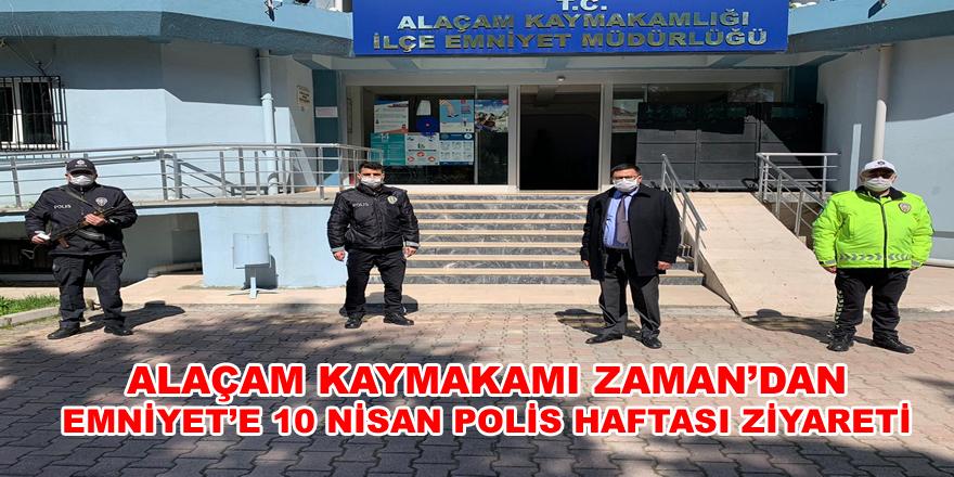 Kaymakam'dan Emniyet'e 10 Nisan Polis Haftası Ziyareti