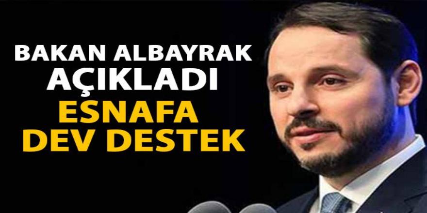 Bakan Albayrak Açıkladı Esnafa dev destek