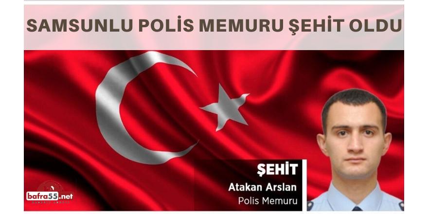 Diyarbakır'da Saldırıya Uğrayan Samsunlu Polis Şehit Oldu