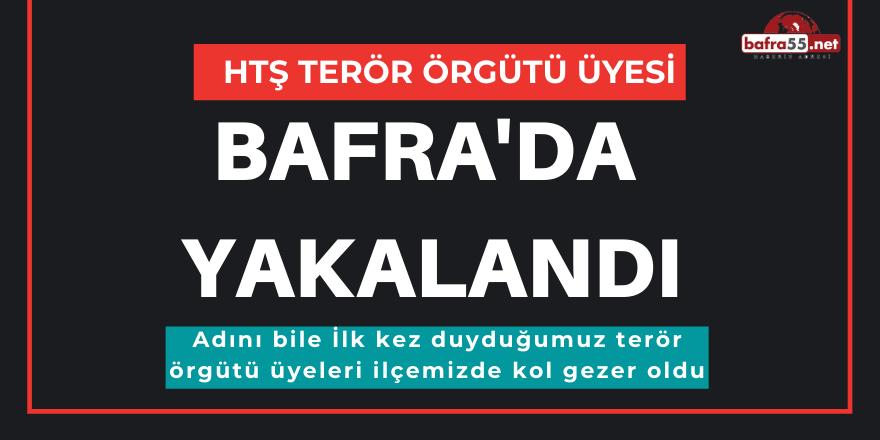 Htş Terör Örgütü Üyesi Bafra'da Yakalandı