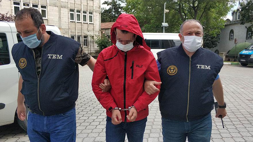 FETÖ Zanlısı Samsun'da Gözaltına Alındı