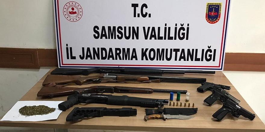 105 bin kök kenevire 4 tutuklama
