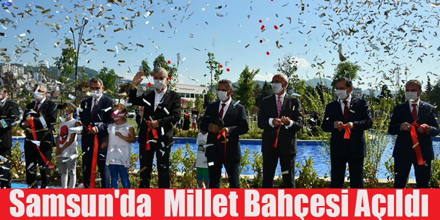 Samsun'da  Millet Bahçesi Açıldı