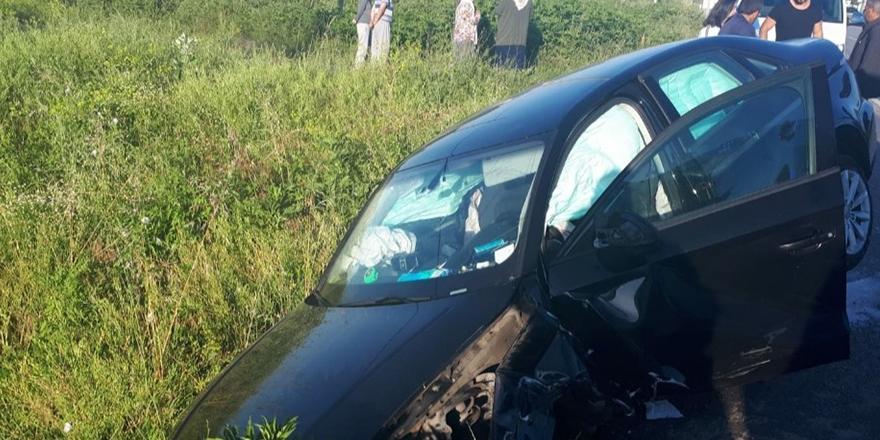 Çarşambada Kaza 2 Yaralı
