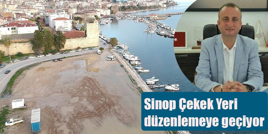 Sinop Çekek Yeri düzenlemeye geçiyor