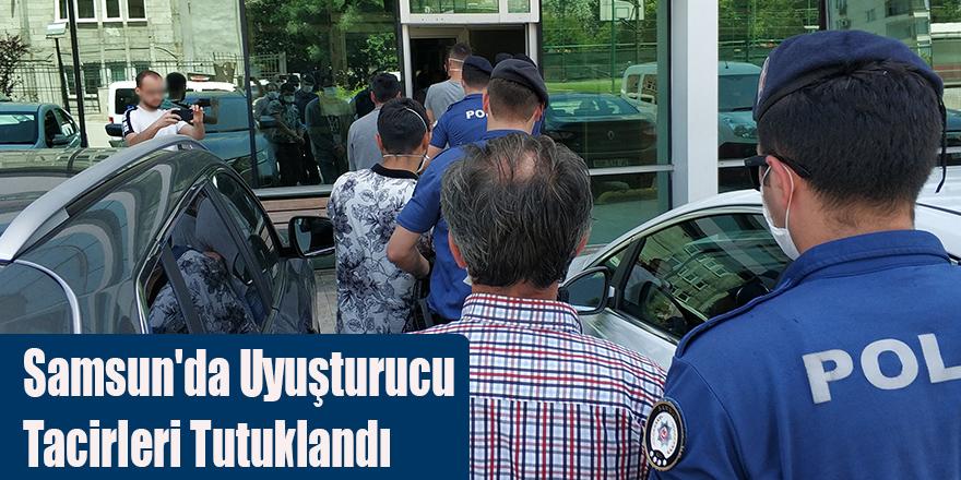 Samsun'da Uyuşturucu Tacirleri Tutuklandı