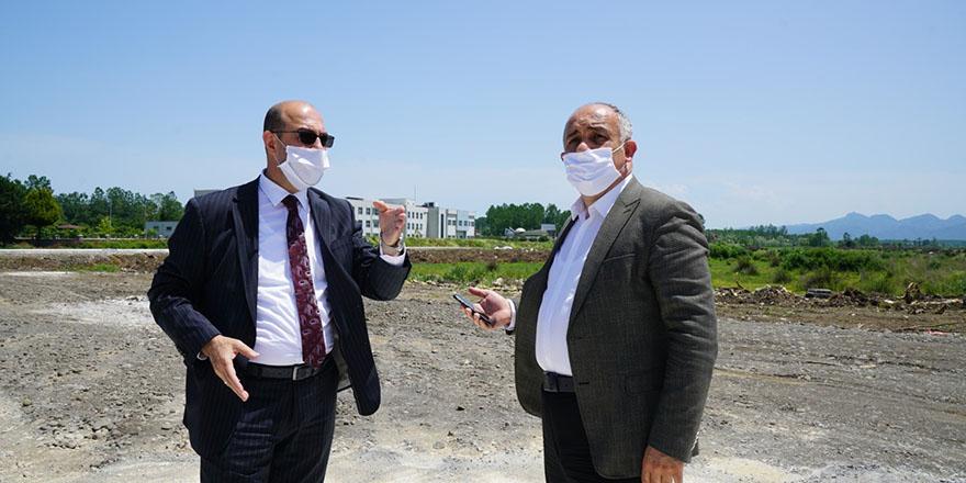 Terme Belediyesi 'Miliç Tesisleri' ile Sakarlı 'festival alanı'na talip