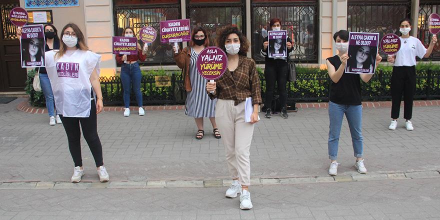Samsun'da 'Aleyna Çakır' için eylem