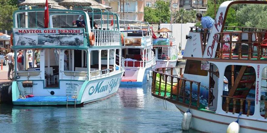 Gezi Tekneleri Sinop'da Hizmete Başladı