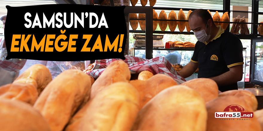 Samsun'da Ekmeğe Zam!