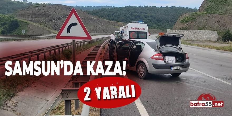 Samsun'da Kaza! 2 Yaralı