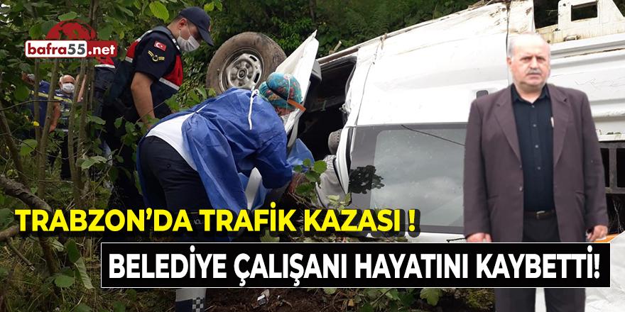 Trabzon'da Kaza!