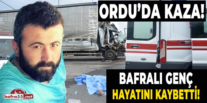 Bafralı Genç Hayatını Kaybetti!