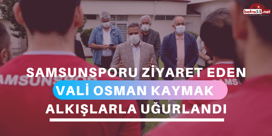 Vali Osman Kaymak Alkışlarla Uğurlandı