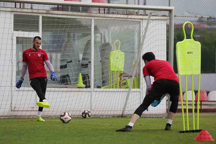 Samsunspor Hazırlıklarına devam ediyor