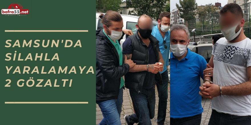 Samsun'da Silahla Yaralamaya 2 Gözaltı