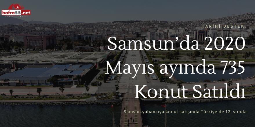 Samsun Yabancıya Konut Satışında Türkiye'de 12. Sırada
