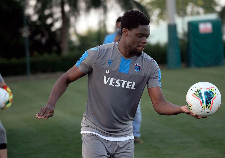 Ekuban Kendini Trabzonspor'da buldu