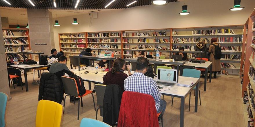 Samsun'da 427 bin 543 kişi kütüphanelerden yararlandı