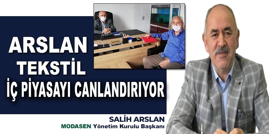 Arslan Tekstil sınırları aştı