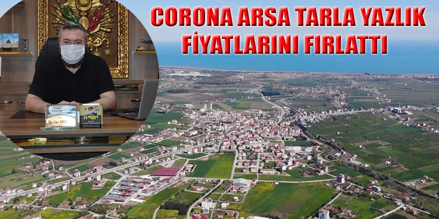CORONA ARSA TARLA YAZLIK FİYATLARINI FIRLATTI