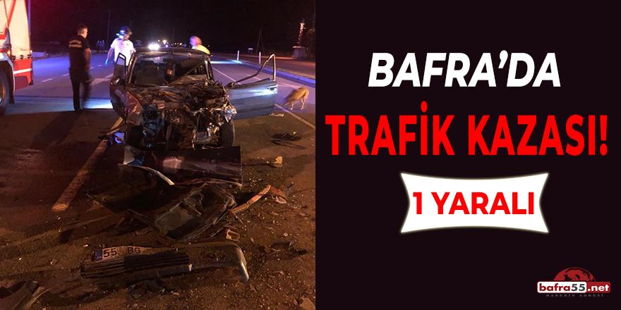 Bafra'da Alkollü Sürücü Dehşet Saçtı