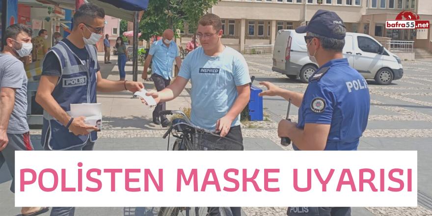 POLİSTEN MASKE UYARISI