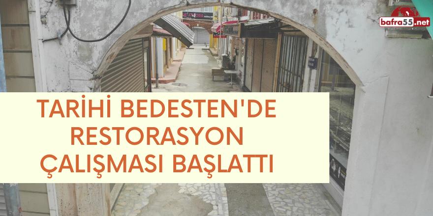 Tarihi Bedesten'de Restorasyon Çalışması Başladı