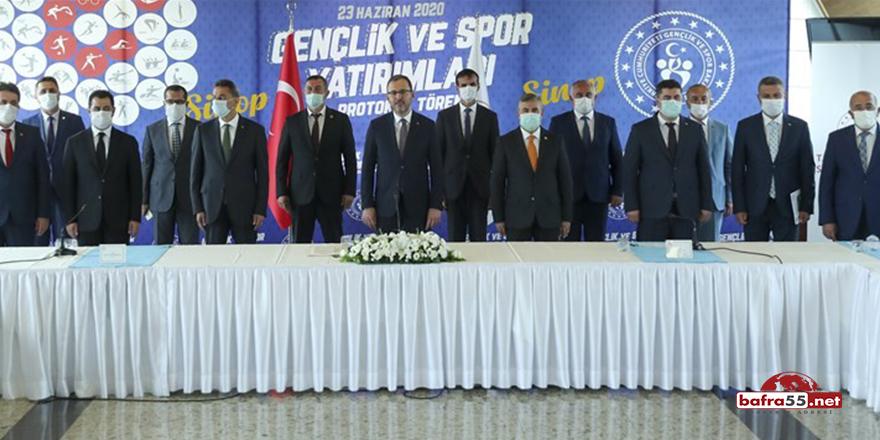 Sinop'ta Spora Büyük Yatırım