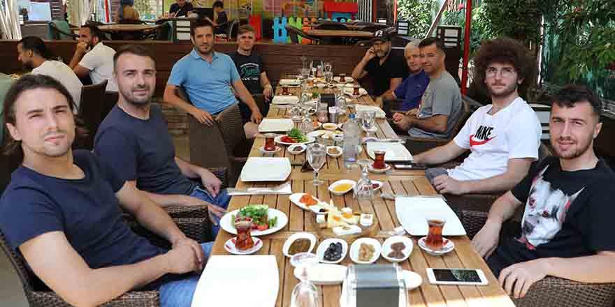 Samsunspor kahvaltıda bir araya geldi