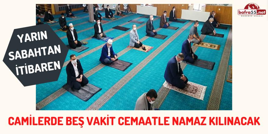 CAMİLER CEMAATİNE KAVUŞUYOR!