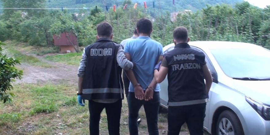 Trabzon'da  15 Kişi Tutuklandı