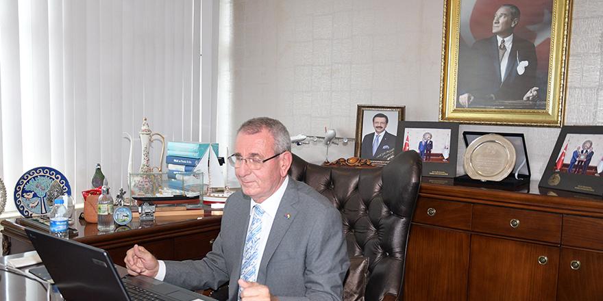 """Murzioğlu: """"Çalışmaya, üretmeye devam edeceğiz"""""""