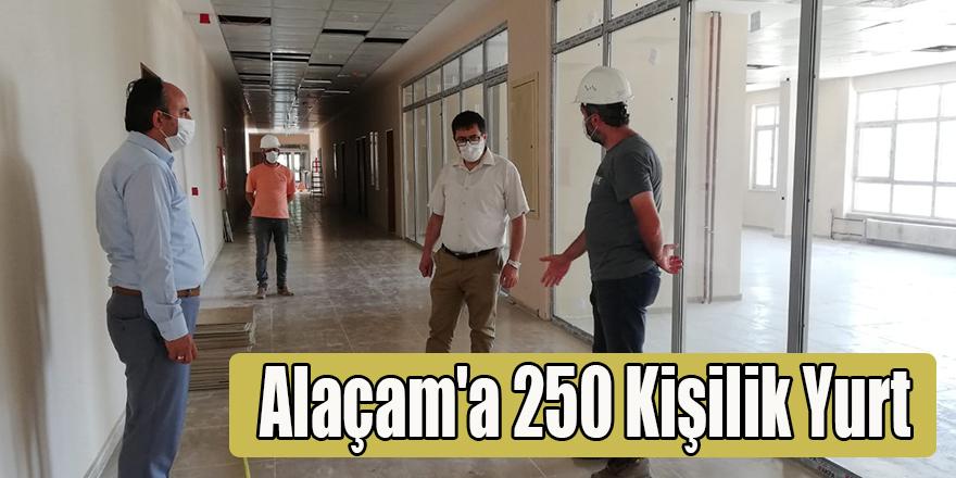 Alaçam'a 250 Kişilik Yurt