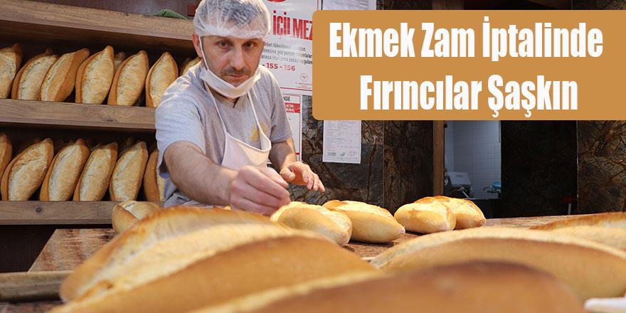 Ekmek Zam İptalinde Fırıncılar Şaşkın