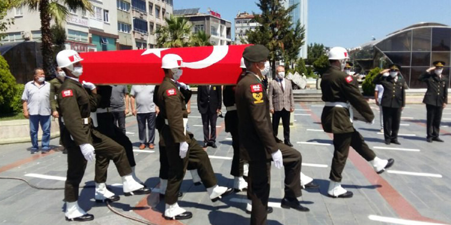 Kore Gazisi Ebediyete Uğurlandı