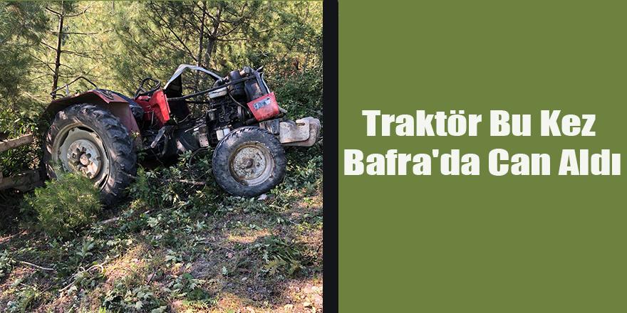 Traktör Bu Kez Bafra'da Can Aldı