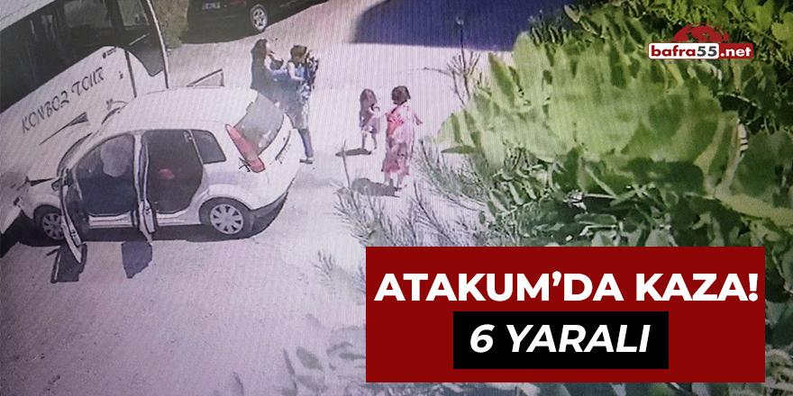 Atakum'da Kaza! 6 yaralı