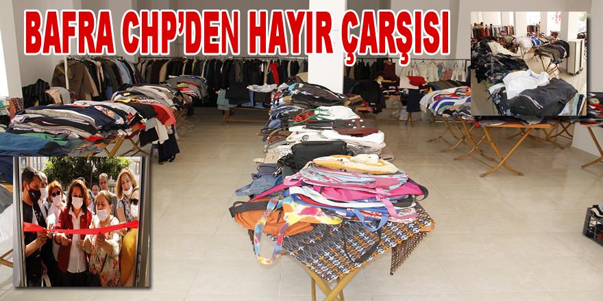 Bafra CHP'den Hayır Çarşısı