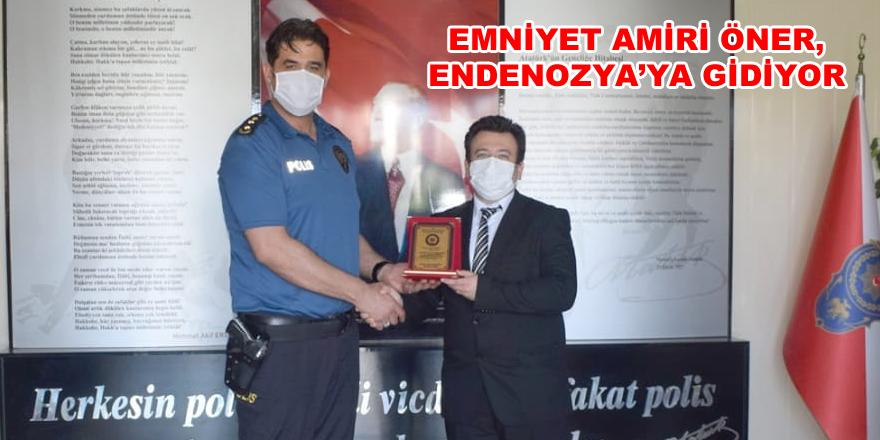 Emniyet Amiri Öner, Endenozya'ya gidiyor